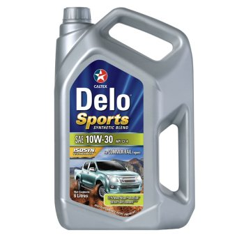 Delo(R) Sports Synthetic Blend SAE 10W-30 6 Liters Motor Oil
