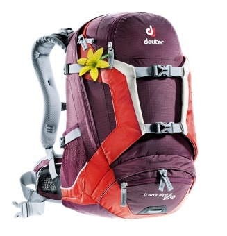 Deuter Trans Alpine 26 SL Backpack (Augbergine Fire)
