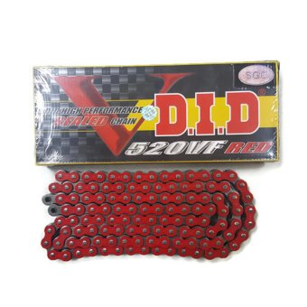 DID High Performance Sealed Chain O-Ring Type 520VF x 110L (Red) Price Philippines