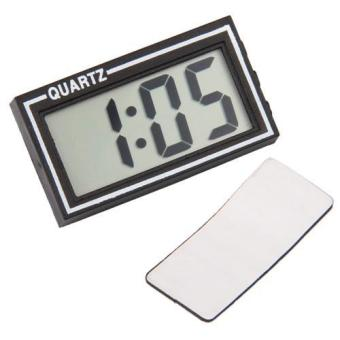 Digital LCD Car Dashboard Clock