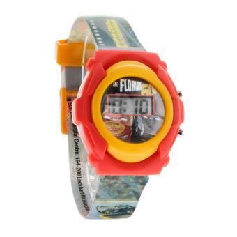 Disney Pixar Cars Boys Multicolor Plastic Strap Watch CARJ6A-17 - 2