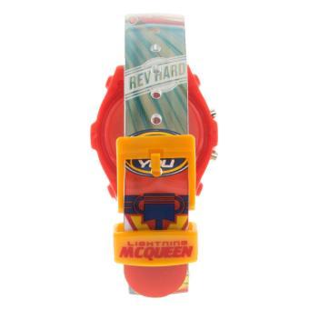 Disney Pixar Cars Boys Multicolor Plastic Strap Watch CARJ6A-17 - 3