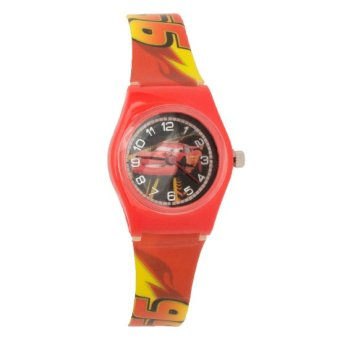Disney Pixar Cars Boys Red Plastic Strap Watch CARS-SA-107 Price Philippines