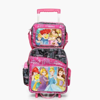 Disney Princess Girls Trolley Backpack with Lunch Bag Price Philippines