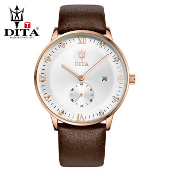 Dita Korean-style leather belt waterproof business quartz watch men's watch