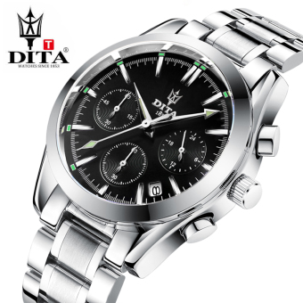 Dita men steel waterproof watch genuine men's watch