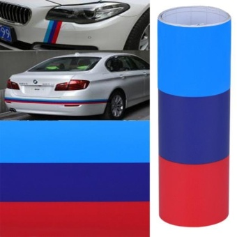DIY For BMW Flag Auto Waist Line Hood Sicker Decal Vinyl Car Stickers 1M - intl