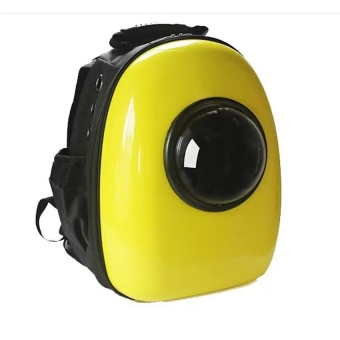 Dog Cat Pet Carrier Portable Outdoor Travel Backpack,Yellow