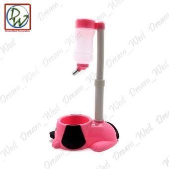 Dog Cat Water Feeder (Pink) - 5