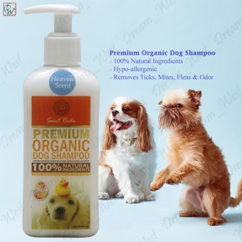 Dog Shampoo Saint Roche Premium Organic 250mL (Heaven Scent) Price Philippines