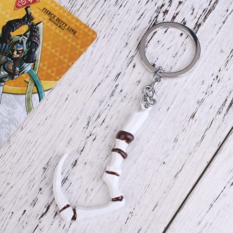 Dota2 Inscribed Dragonclaw Hook Key Chain Keyring Pendant Dota Dendi's Game Gift - intl