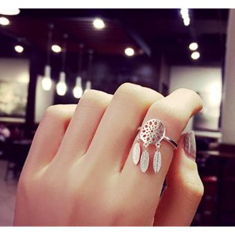 Dream Catcher Silver Plated Ring