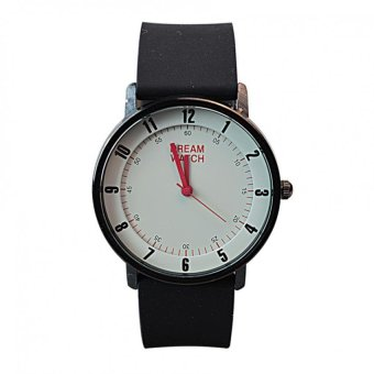Dream Silicone Strap Watch for Men 8057G-10 (Black)