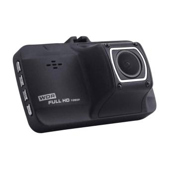 DVR FH01 1080P HD Vehicle Data Recorder Car DVR Night Vision GadgetBox Dash Camera (Black) - 2