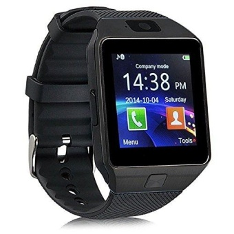 DZ09 Smart Watch with Camera, Bluetooth, and SIM/Memory Card Slots (BLACK)