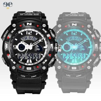 E&E Men's Military LED Digital Dive 50M Fashion Outdoor Sport Wristwatches