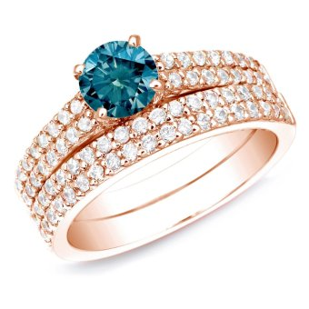 E&E Double Ring Sets for Lovers Accessories Gift Bridal Sets SY-207