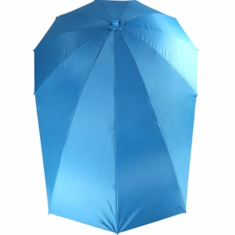 eBike e-Bike Umbrella for eBikes and Motorcycles (STANDARD) - LIGHT BLUE + BRACKET I Attachment Set