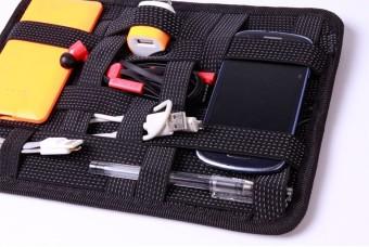 Elasticity Grid It Travel Organizer (Black) - picture 2