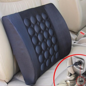 Electric Massage Pillow for Vehicle-Black - intl