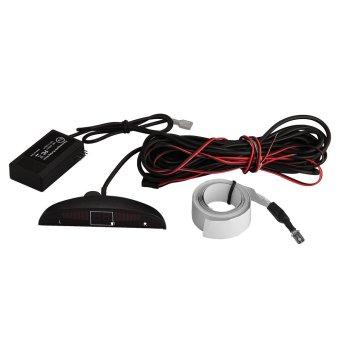 Electromagnetic Auto Parking Reverse Radar Sensor LED Display + Buzzer Alarm - 5