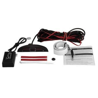 Electromagnetic Car Parking Reverse Back Up Radar Sensor Kit withLED Display - 2