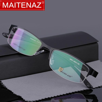 Elegant and comfortable color changing male ultra-light radiation glasses reading glasses mirror