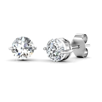 Elegant Earrings - Zirconia from Swarovski(R) - intl