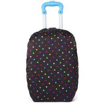 Elite Backpack Cover / Duffle Trolley Cover / Bag Cover / SchoolBag Trolley Cover - Multi Dotted Price Philippines