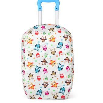 Elite Backpack Cover / Duffle Trolley Cover / Bag Cover / SchoolBag Trolley Cover - Owl Price Philippines