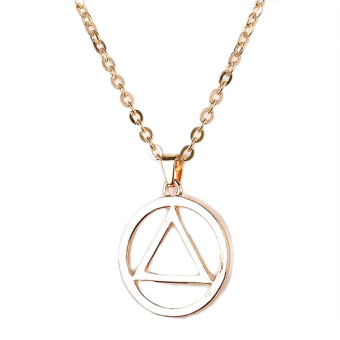 Eminem Love The High-Quality Copper Pendant Jewelry Jewelry PendantNecklace Silver - Intl - 2