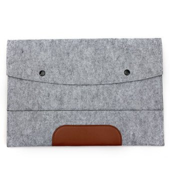 """Envelope Laptop Case Cover for Macbook Air Pro 11.6"""" Light Grey - picture 2"""