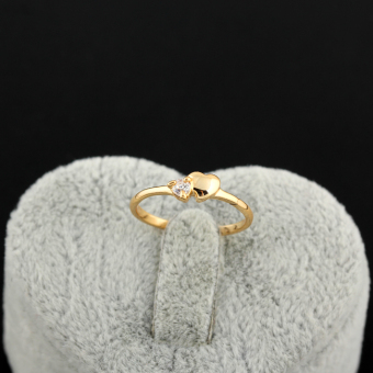 EOZY Never Fade 18K Gold Plated Copper Zircon Ring (golden) Price Philippines