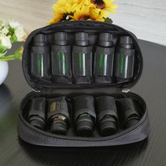 Essential Oil Carrying Case Holds 10 Roller Bottles Size5ml,10ml,15ml - Black - 3