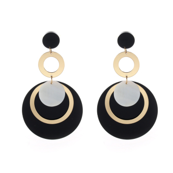 European and American style exaggerated style women's earrings stud