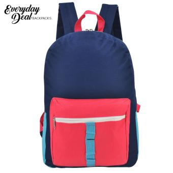 Everyday Deal 7182 Calix Unisex School Backpack Casual Daypack Bag (Multicolor)