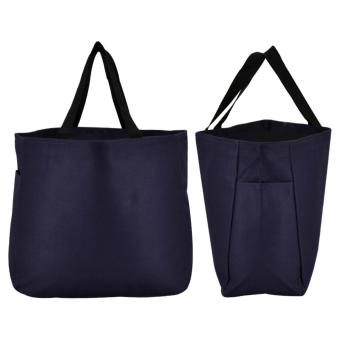 Everyday Deal Dye Tote Carry Bag Canvas Travel Handbag Shoulder Shopping Bag