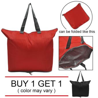 Everyday Deal Ella Foldable Tote Lunch Carry Bag Food WarmerStorage Picnic Bag Buy One Get One