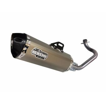 EXOS R6 Skydrive Full Exhaust System - Titanium Anodized