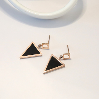 Exquisite cool mini small stud earrings