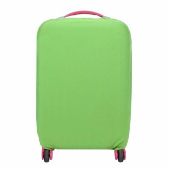 Extra Thick Suitcase Protective Anti-Scratch Luggage Cover green (S18in to 20in)