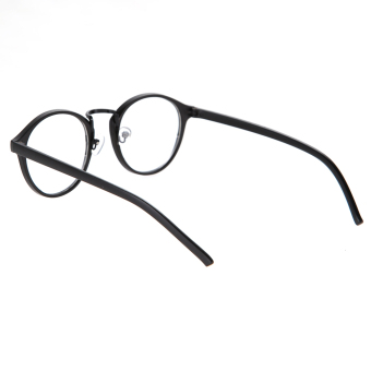 Eyeglasses Frame Optical Reading Eye Plain Glasses Black - 5