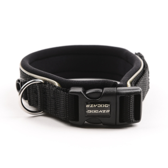 Ezydog Neoprene Collar Dog Leash (Black) - 2