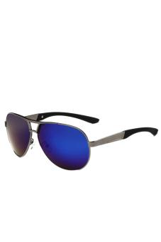 Fancyqube Driving Aviator Outdoor Sports Eyewear Cool Glasses Blue