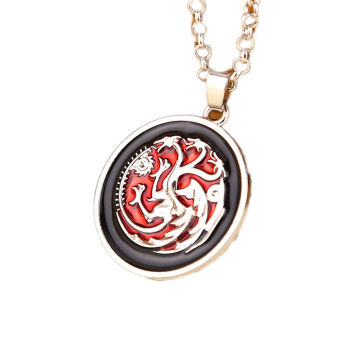 Fancyqube Game of Thrones Targaryen Long Drop Oil Necklace Price Philippines