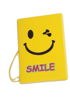 Fancyqube Passport Holder Smiling face (Yellow) Price Philippines