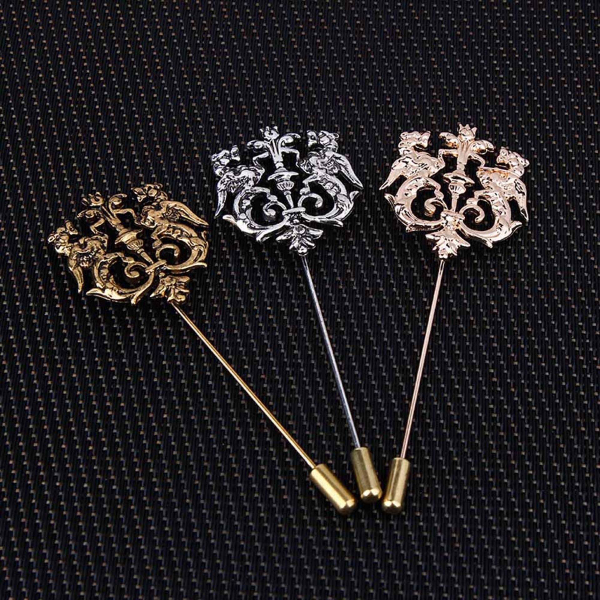 suits rose fashion for brooch s brooches jewelry silk pins mens flower accessories vintage royal blue lapel wedding women luxury pin men red suit