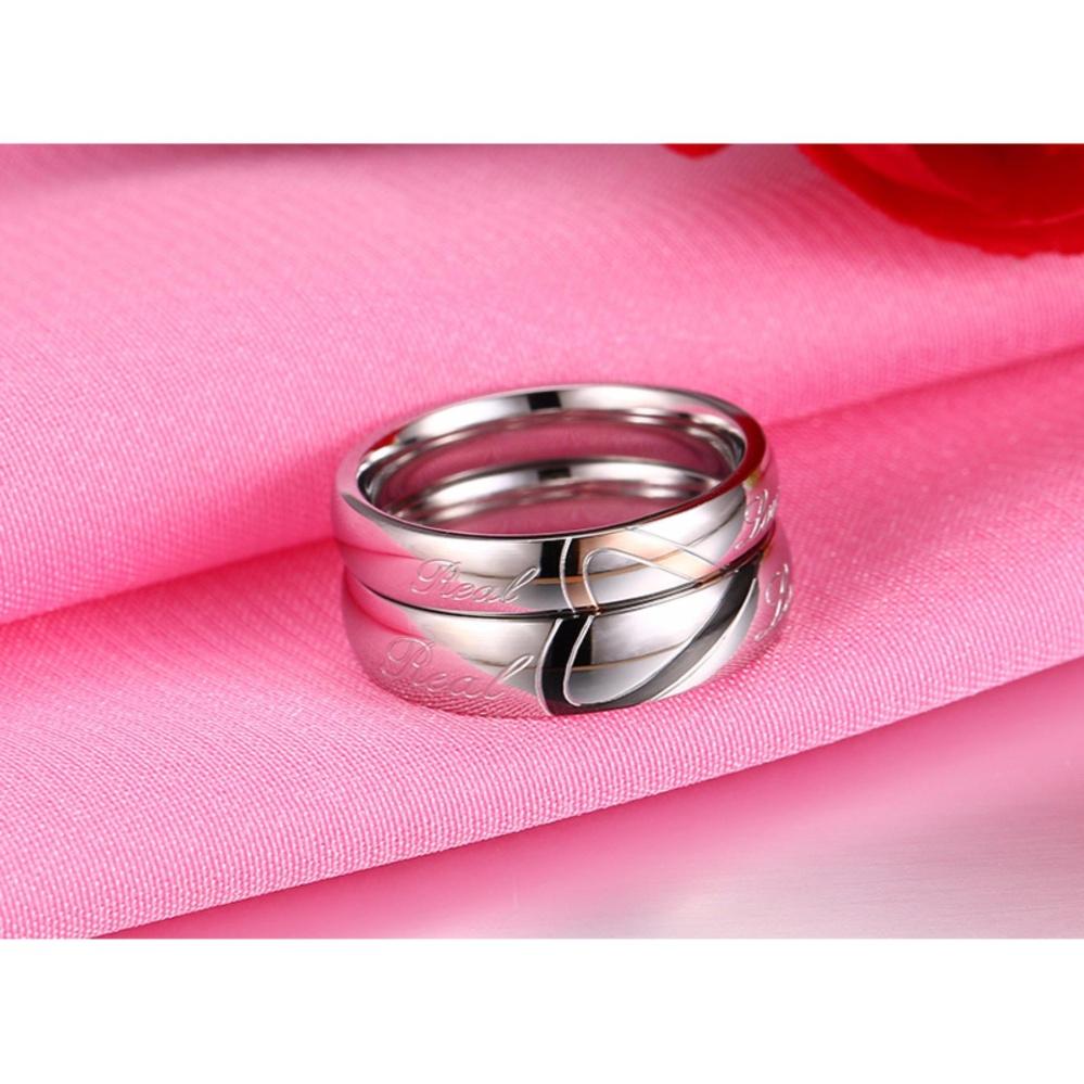 Philippines | Fashion 5MM Titanium Steel Love Couple Ring CR-001 ...