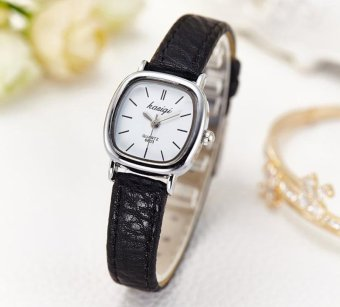 Fashion Brand Women's Korean Style Small Dial Dress SuperiorQuality Leather Strap Quart Watch - intl