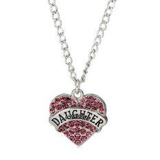 ... Fashion Family I Love You Mother Mom Dad Sister Gift Silver Pendants Source Fashion Crystal Rhinestone